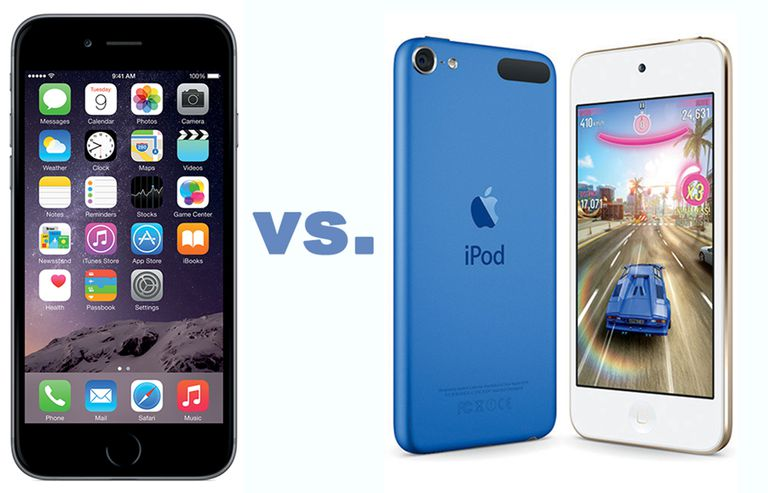 iPhone vs iPod touch
