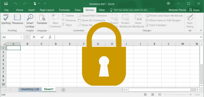 Unprotect Excel Workbooks