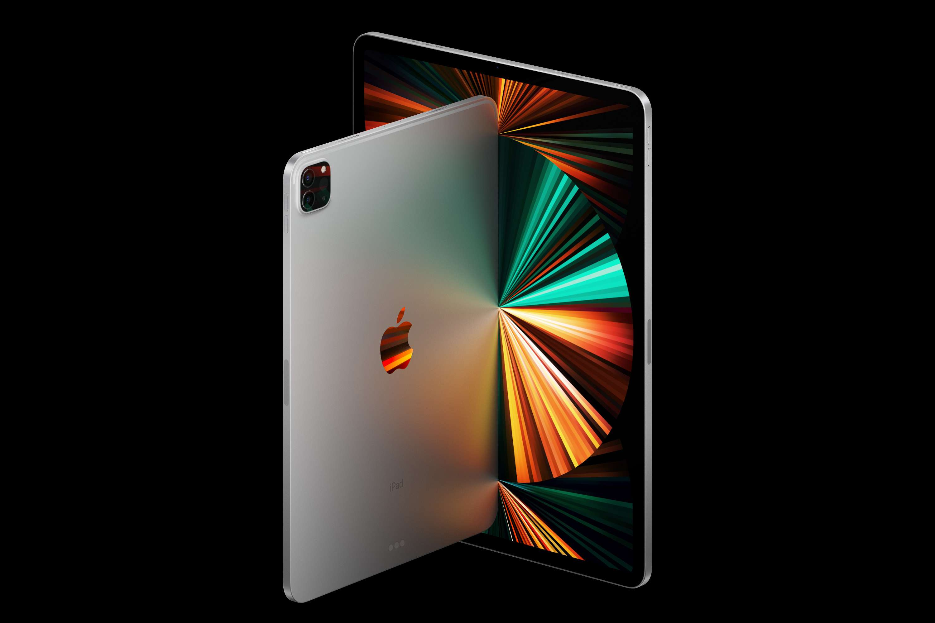 iPad Pro 2021 front and back view