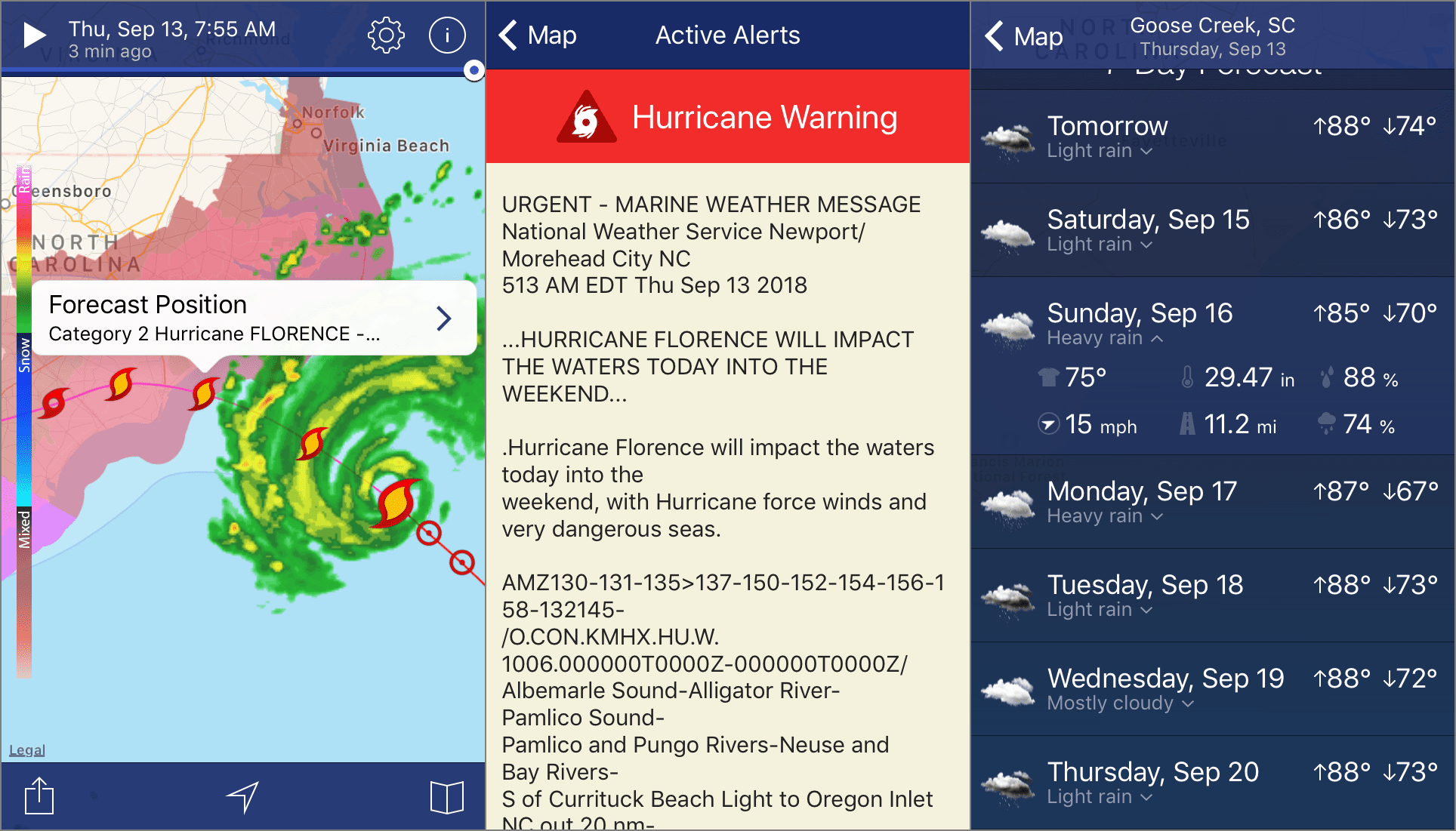 The 5 Best Hurricane Tracker Apps Of 2019