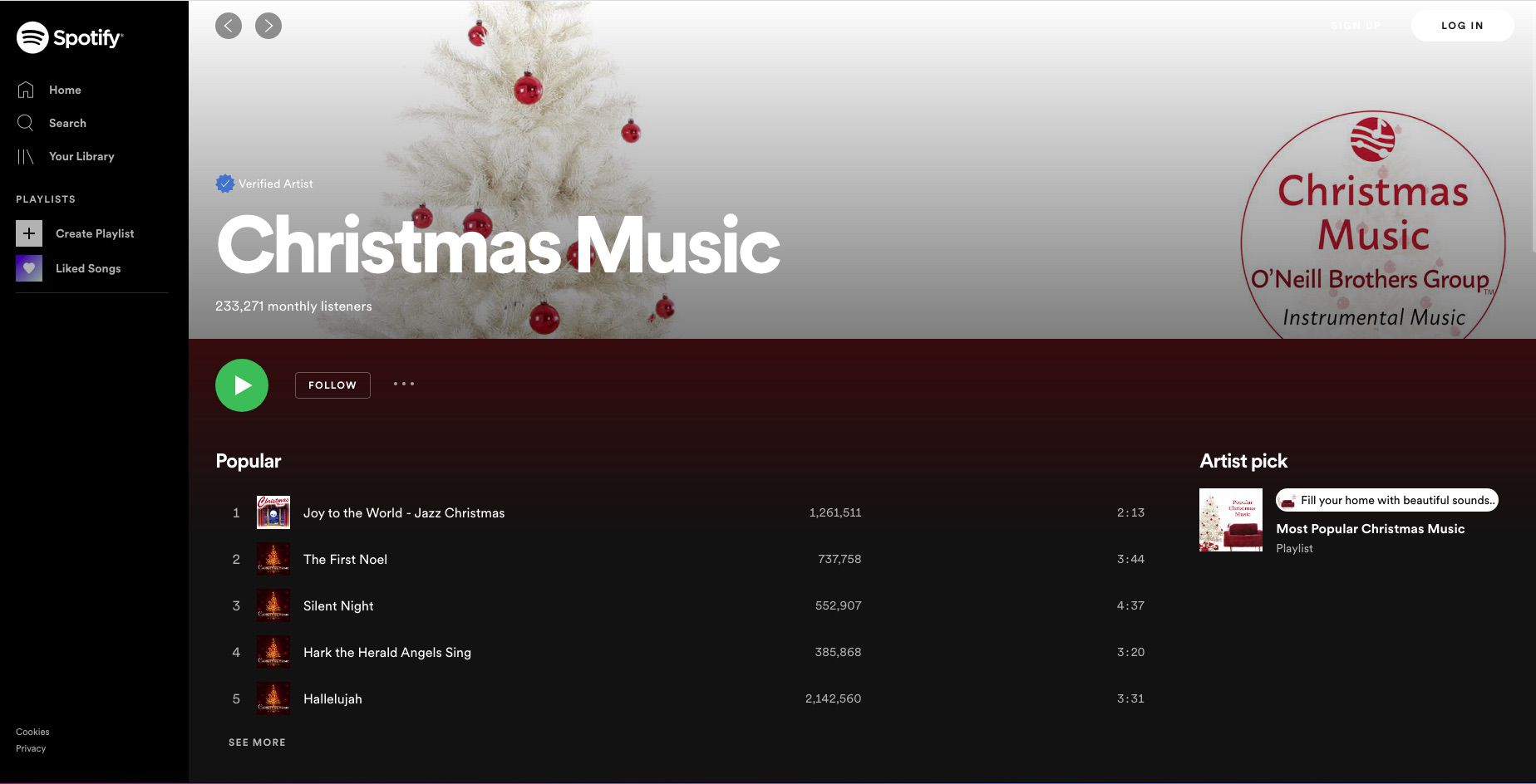7 Best Free Christmas Music Streaming Sites