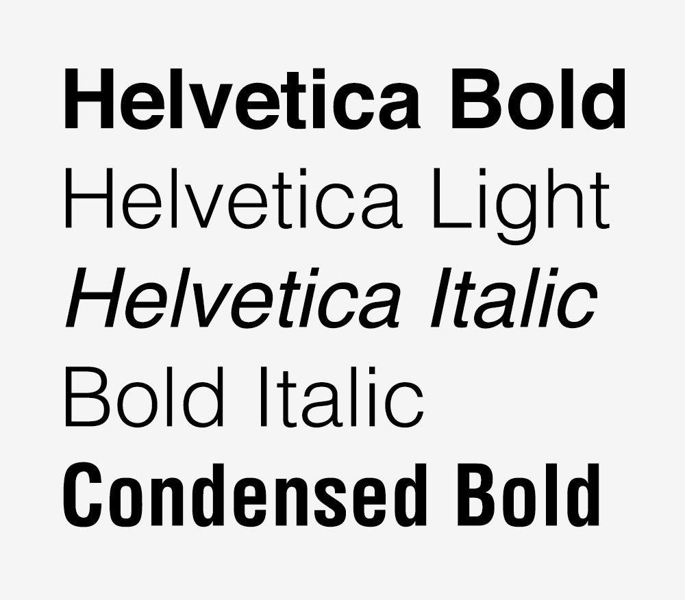Helvetica Normal