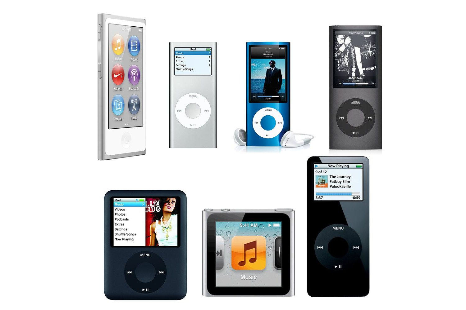 Apple iPod Nano 2nd Generation 4GB 8GB *Used* Choose Your Color