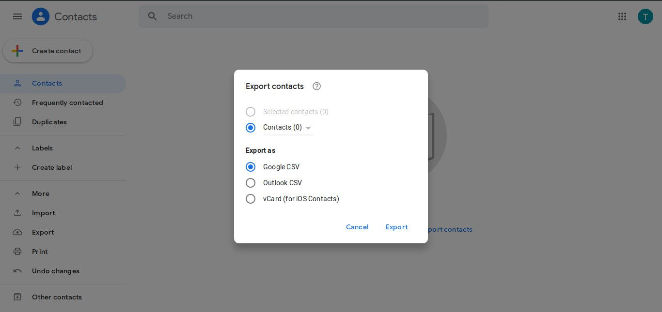 How to Export Your Gmail Contacts