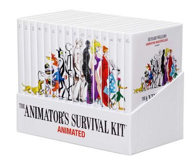The box set for the Animator's Survival Kit