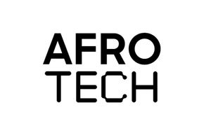 The AfroTech logo in black and white.