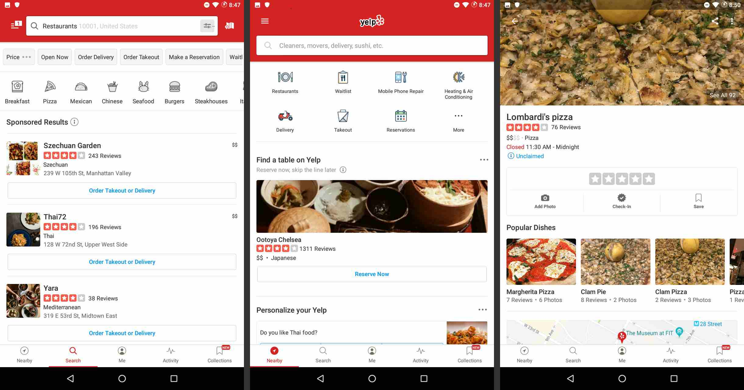 The 5 Best Android Food and Restaurant Apps