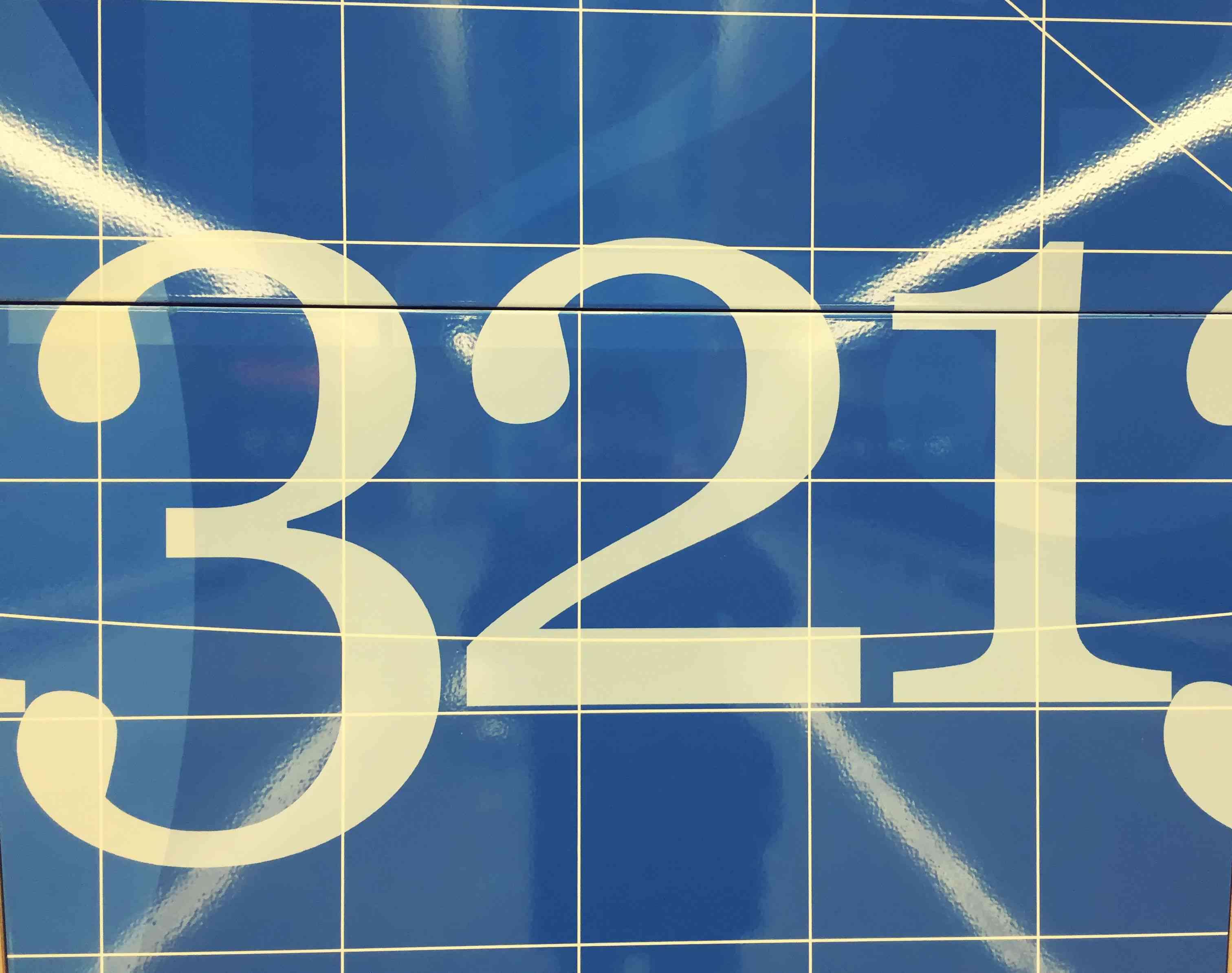 Numbers in reverse order, countdown