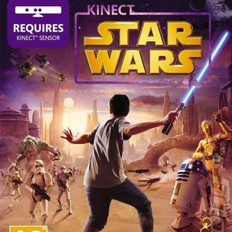 Kinect Star Wars - Portada