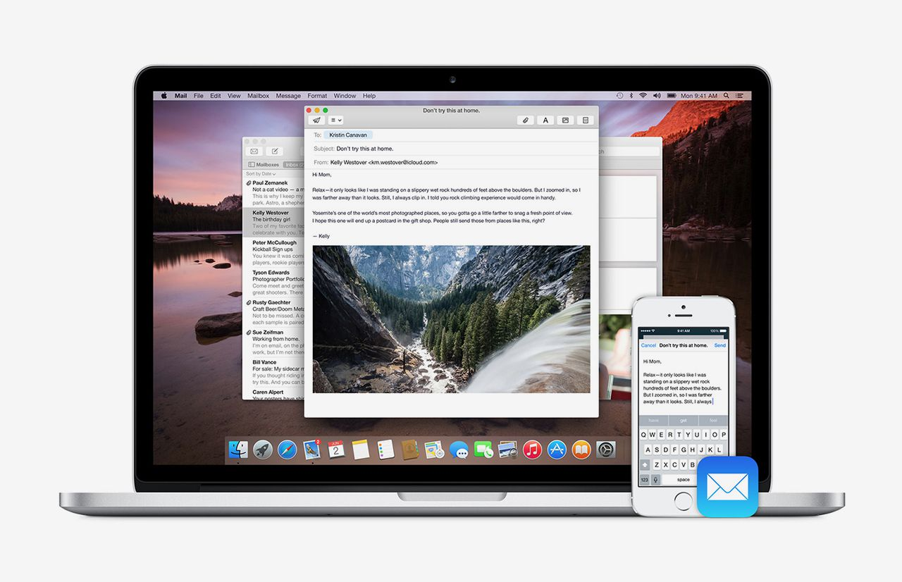 Handoff in iOS 8