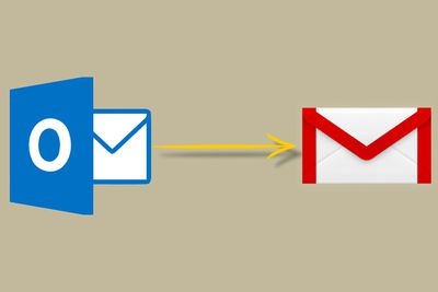 Import Outlook to Gmail
