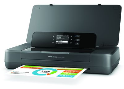 HP's Officejet 200 Mobile Printer