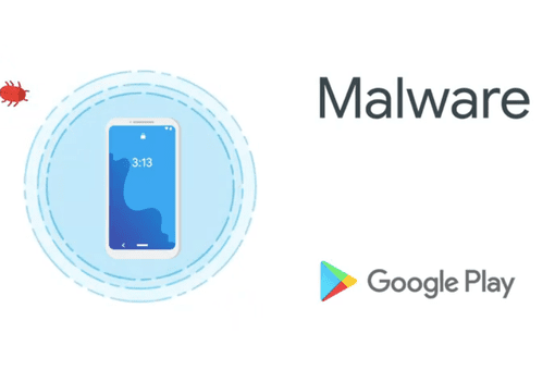Android and Google Play Malware Illustration