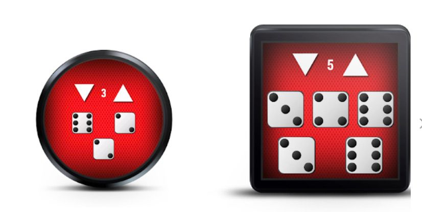 Roll the Dice game for Wear OS