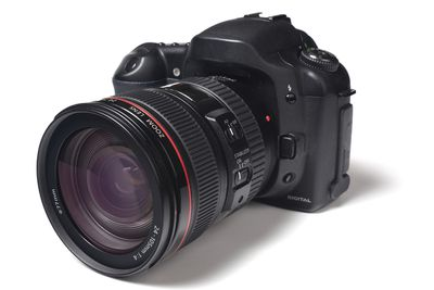 A modern digital camera