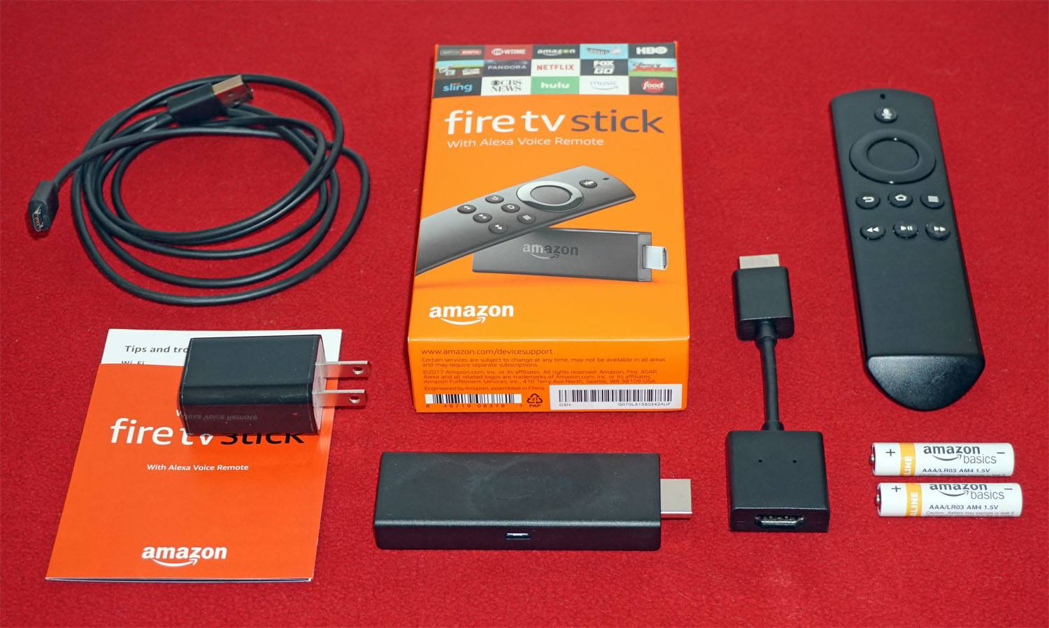 The Amazon Fire Tv Stick Review Computer Electrical Wire Junction Box Switch Socket Storage With Alexa Voice Remotepackage