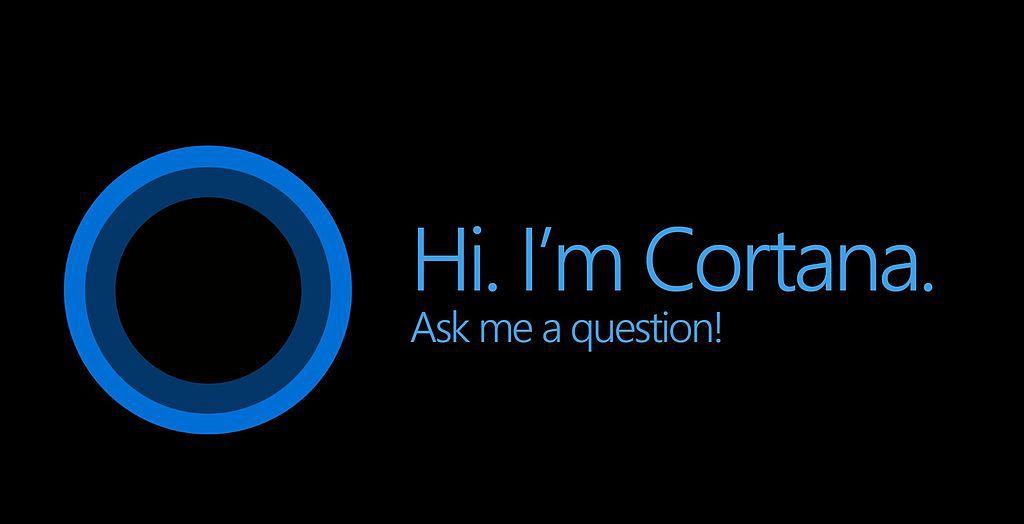 Cortana screen abstract