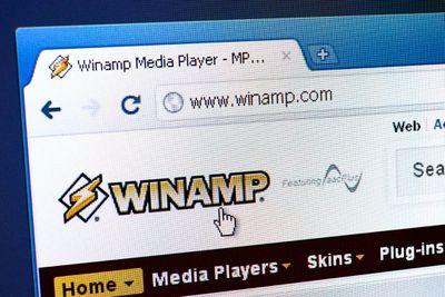Winamp partial screenshot