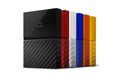 WD 1TB Black My Passport Portable External Hard Drive