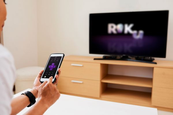 Connecting AirPods to Roku TV with an iPhone.