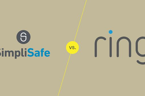 SimpliSafe and ring logos