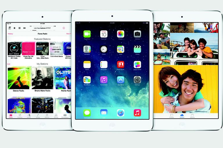 iOS 8 on the iPad mini