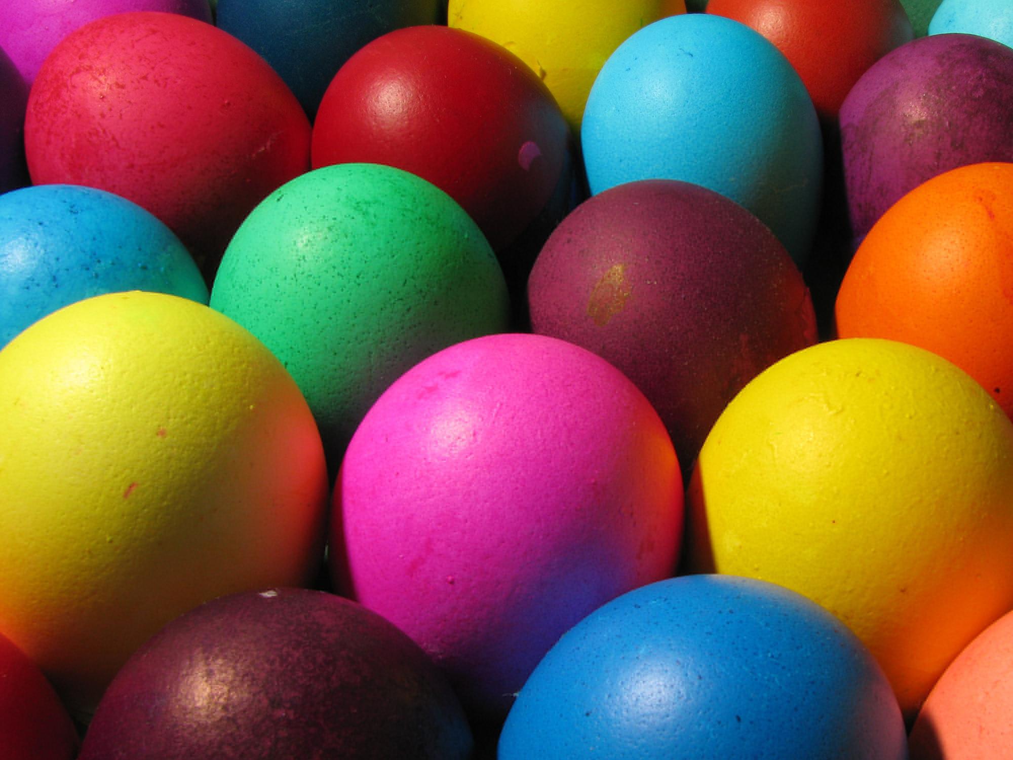 Screenshot Of An Easter Egg Wallpaper