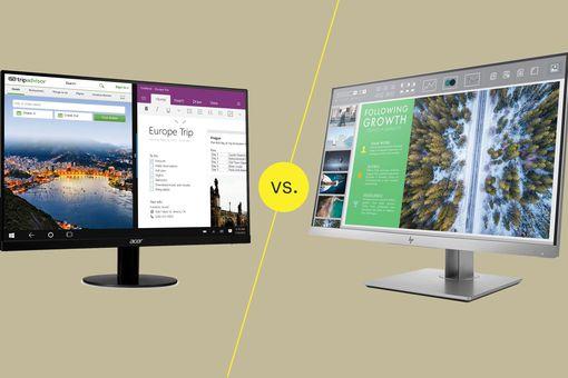 Monitor vs.