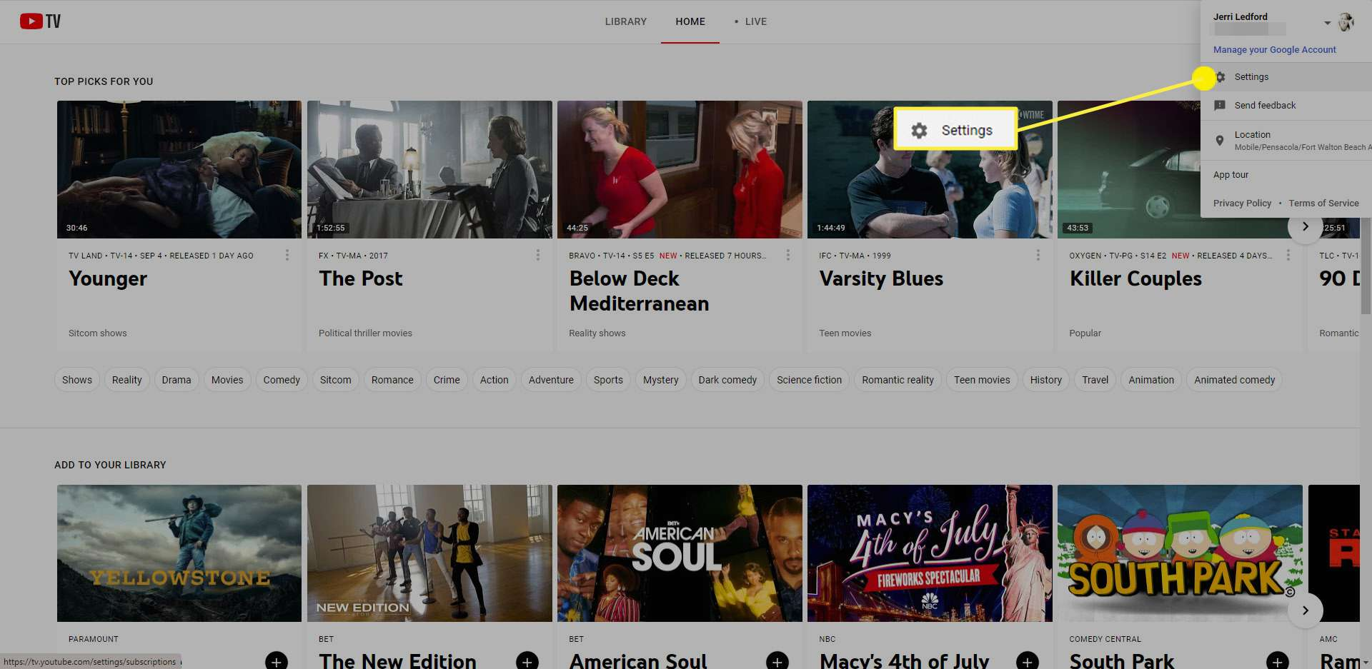How To Set Up Youtube Tv Family Sharing