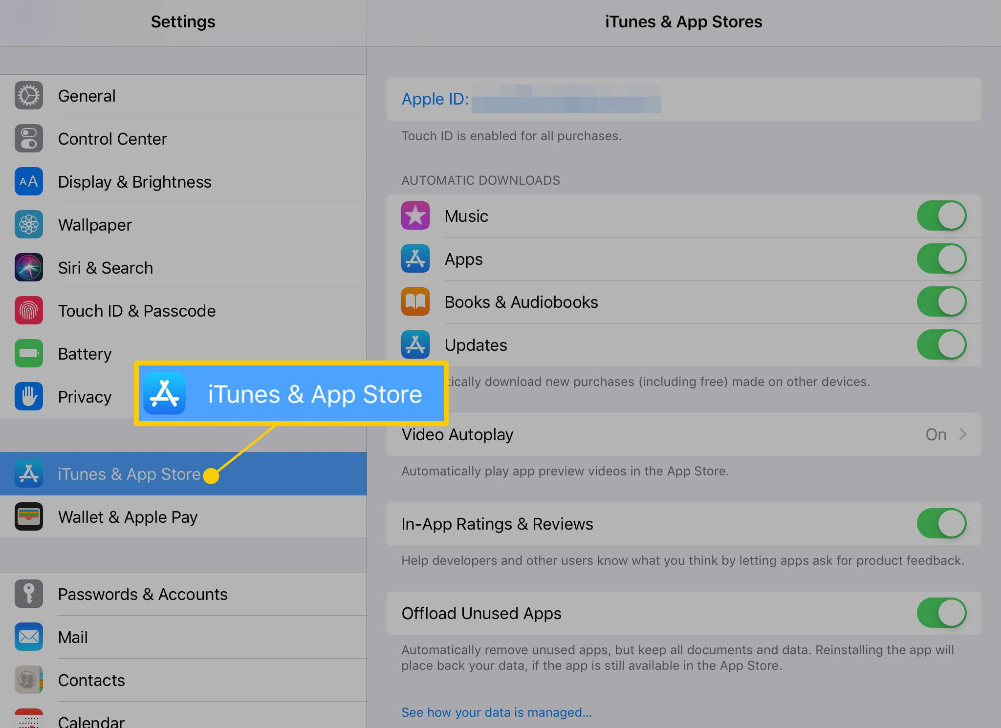 How to Turn on Automatic App Updates on the iPhone/iPad