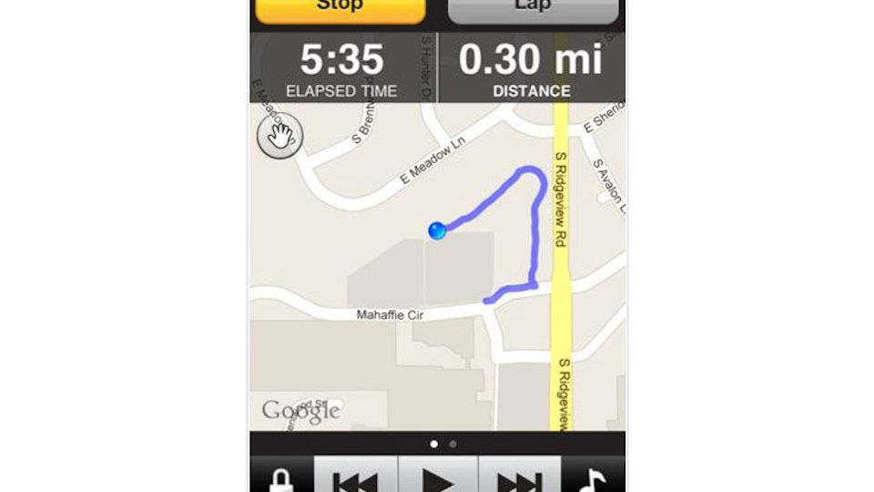 Garmin Fit GPS iPhone App Review
