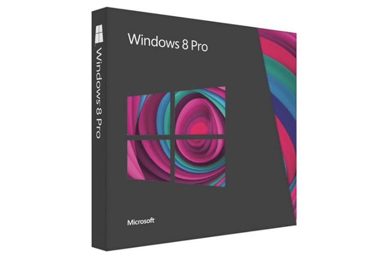Picture of the Windows 8 Pro box
