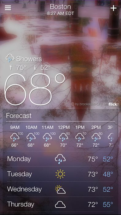Yahoo Weather App For Iphone Review