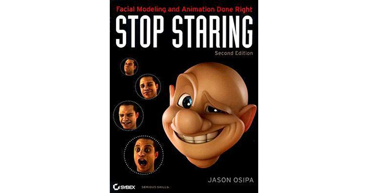 The cover image for Stop Staring
