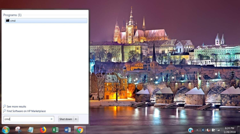 Command Prompt Windows 7