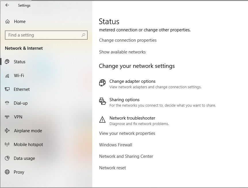 How to Perform a Network Reset in Windows 10