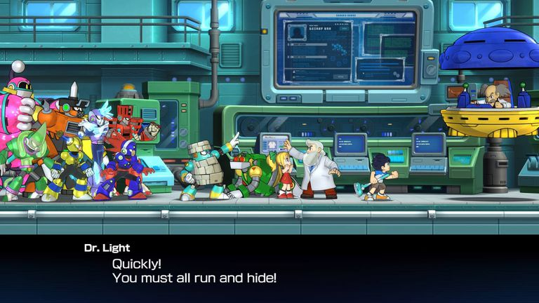 Mega Man 11 Boss Guide for PS4, Xbox One, Nintendo Switch and PC
