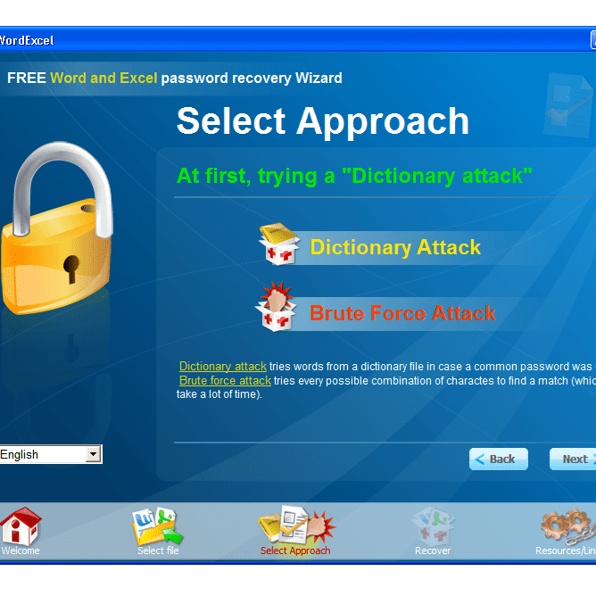 free word and excel password recovery wizard key