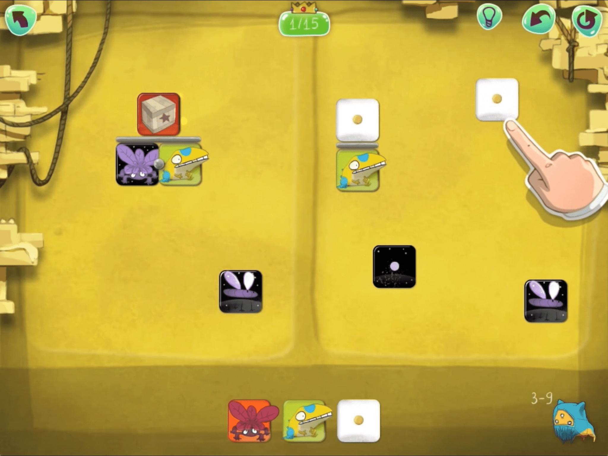 Screenshot of Dragonbox Algebra 12+