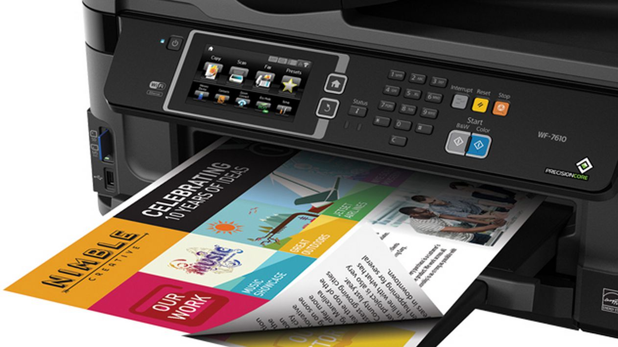 Epson WorkForce WF-7610 All-in-One