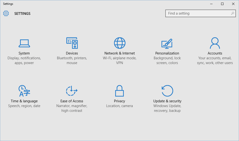 Creating Local Accounts in Windows 10