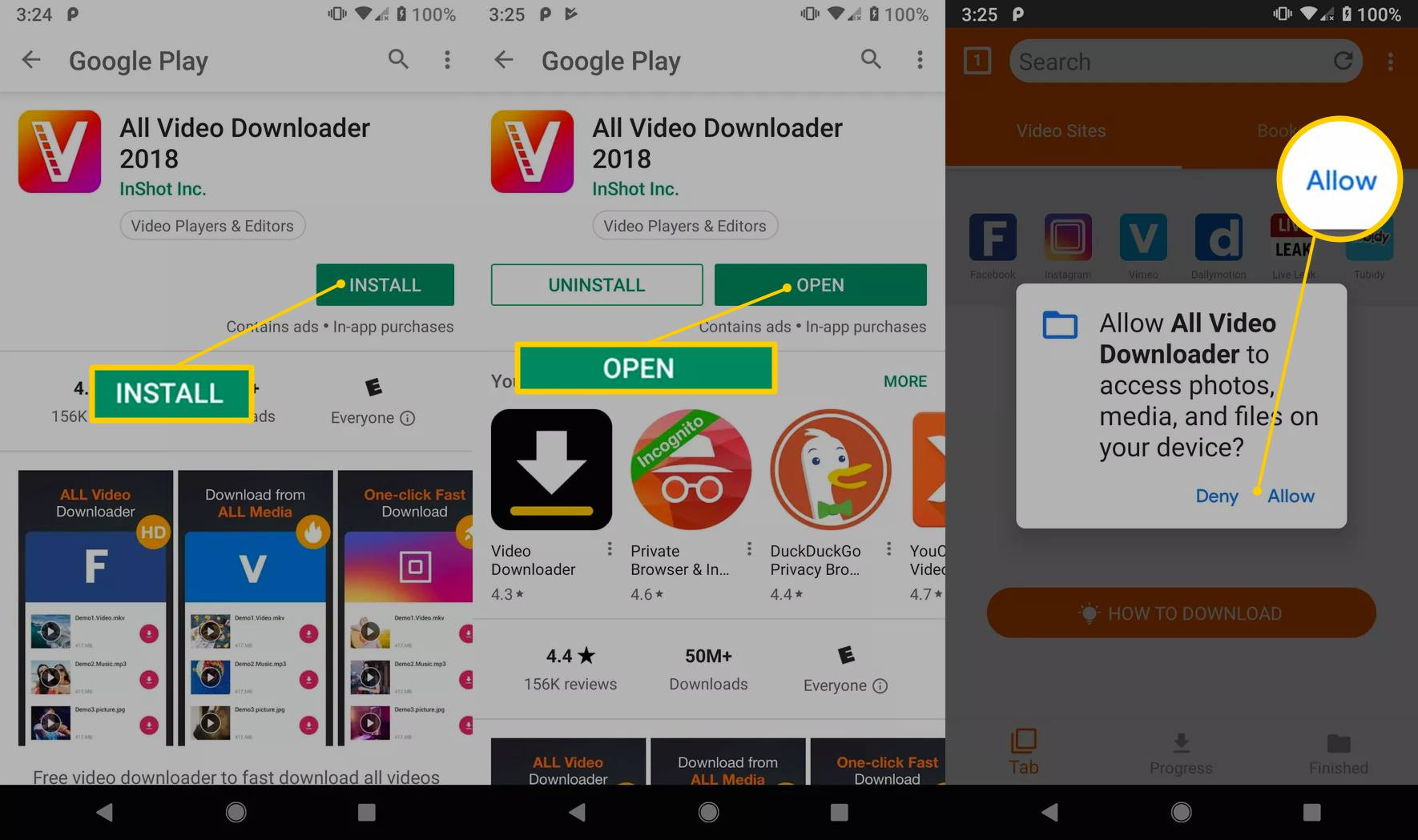 How to Download Free MP4 Movies On Android Phones or Tablets