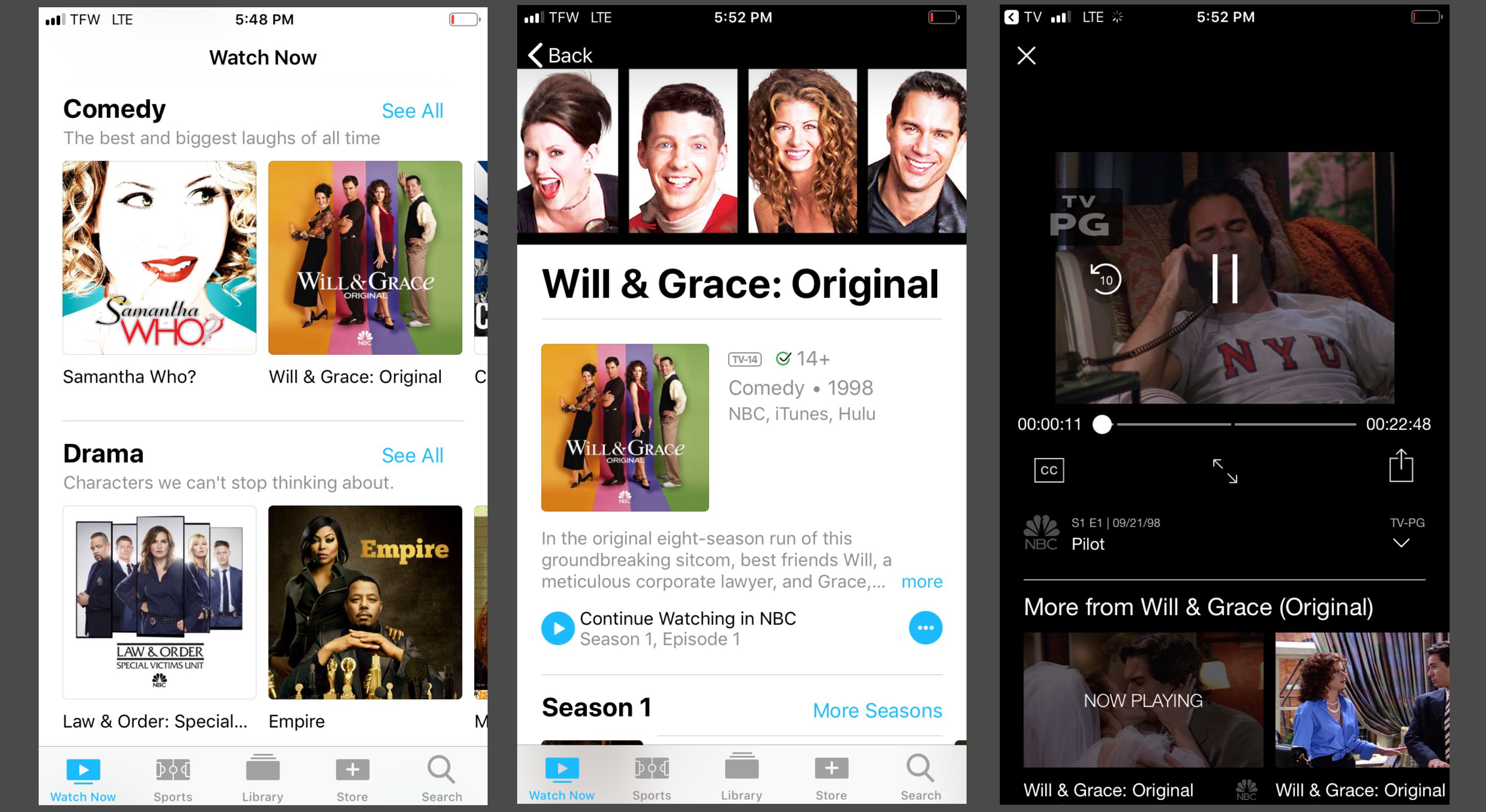 How to Use the iPhone TV App