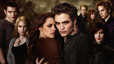 An image of the characters in The Twilight Saga.