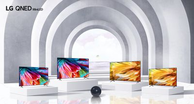LG QNED product line 2021