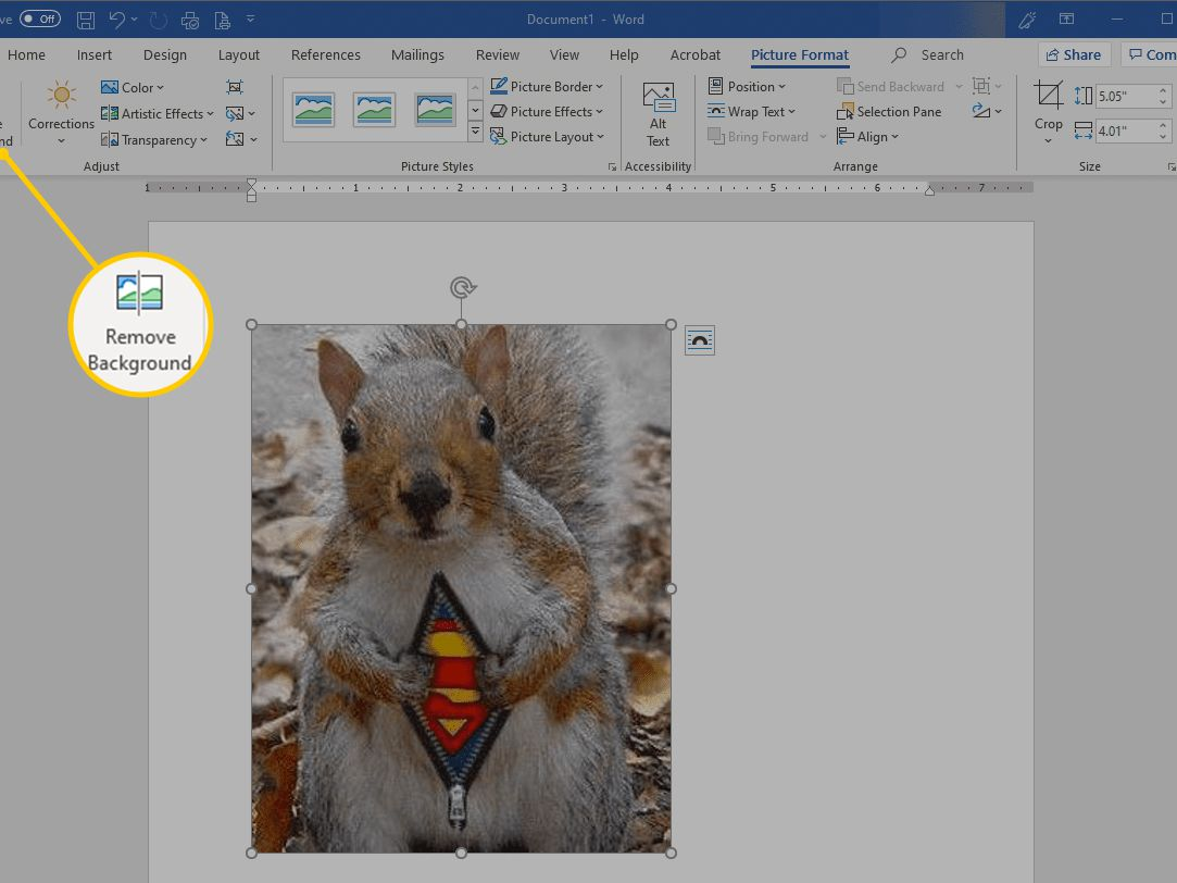 How To Remove Image Fill Or Backgrounds In Microsoft Word