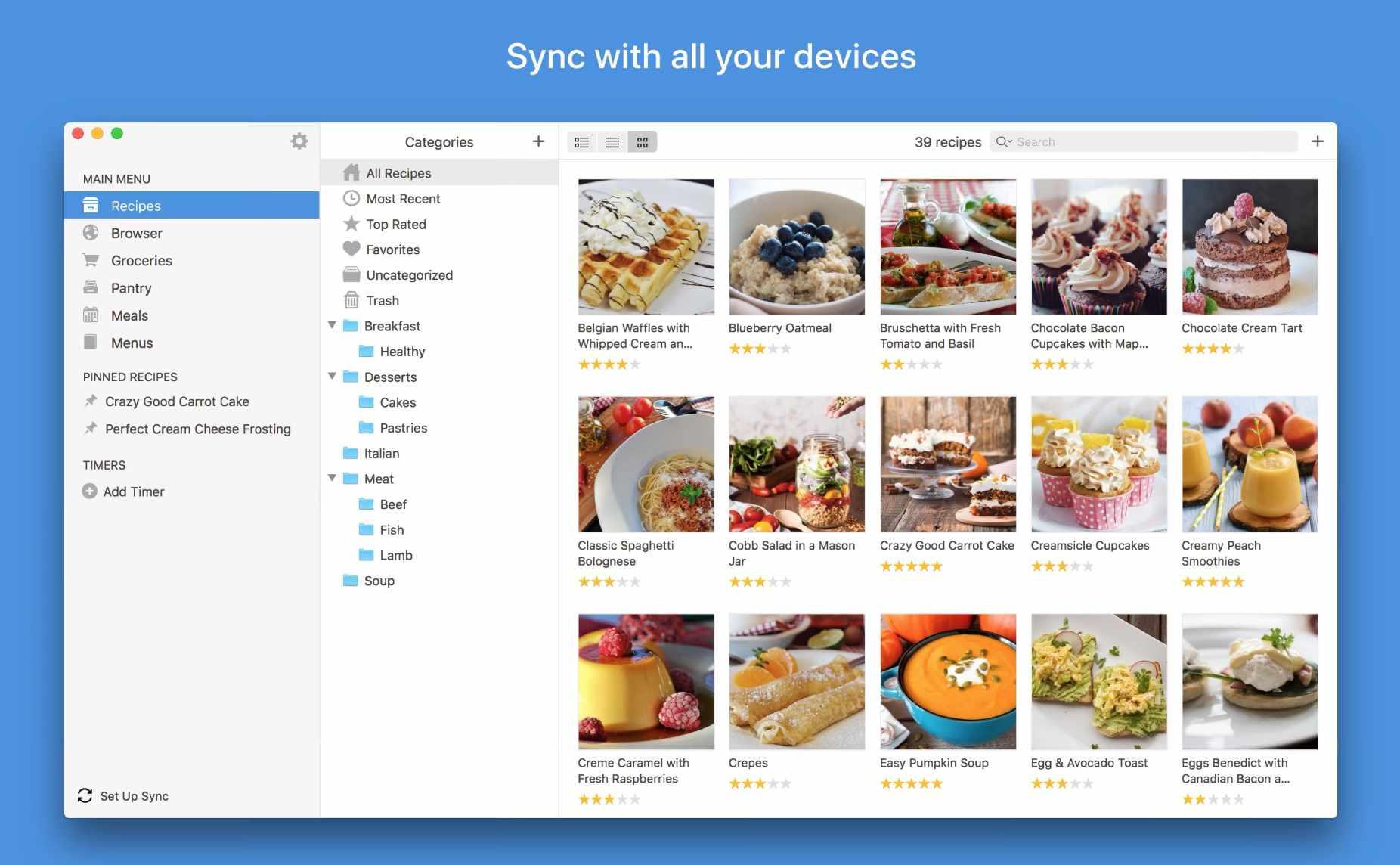 Paprika app for macOS