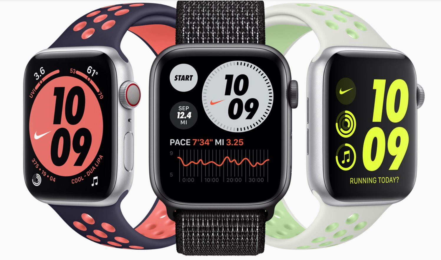 The Apple Watch Nike, part of the 6 Series line