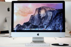 An Apple Mac