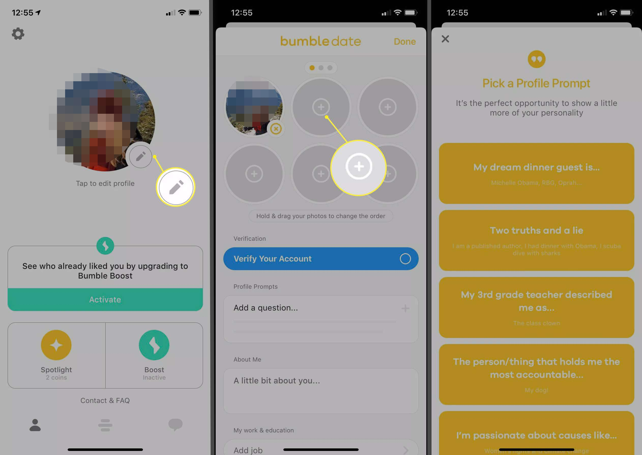 How To Make A Bumble Profile